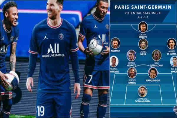 Paris Saint-GermainAnnouncing the line-up