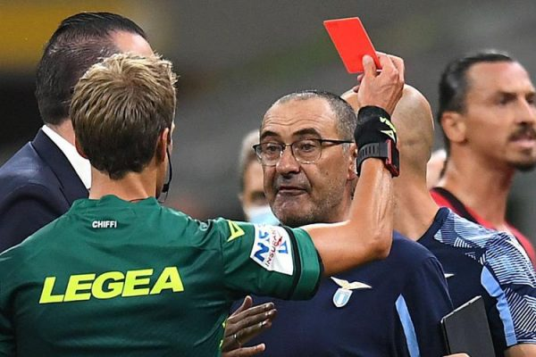 Maurizio Sarri will have a two-match banned